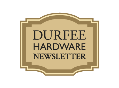 Durfee Hardware Newsletter Placard