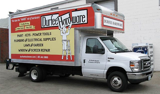 Durfee Hardware Delivery Truck